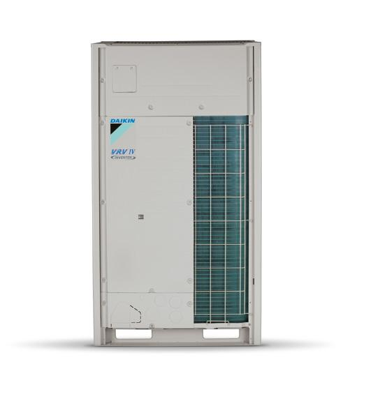 RYYQ-T (50 to 54 hp) VRV IV Heat Pump with Continuous Heating Outdoor Units RYYQ50T RYYQ52T RYYQ54T RYMQ16T RYMQ16T RYMQ18T RYMQ16T RYMQ18T RYMQ18T RYMQ18T RYMQ18T RYMQ18T Capacity Nominal Cooling kw
