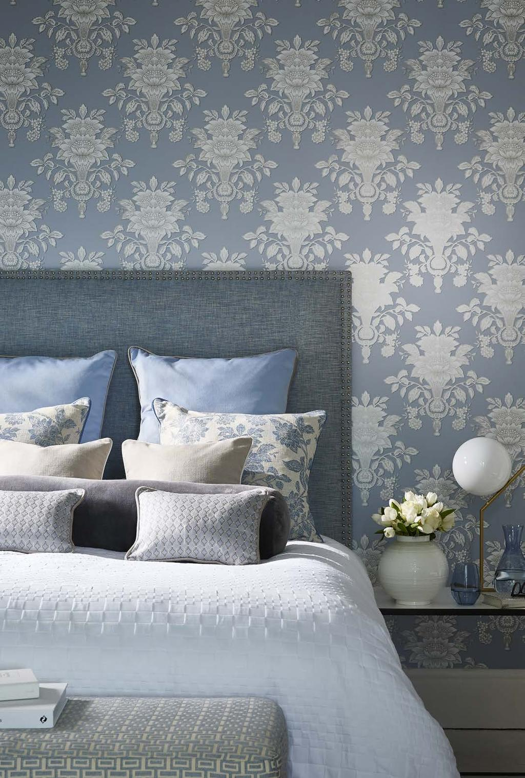 THE FUTURE OF HERITAGE Blendworth have worked alongside Wedgwood to create a collection of fabrics and wallcoverings inspired by the brand s impressive design archive.