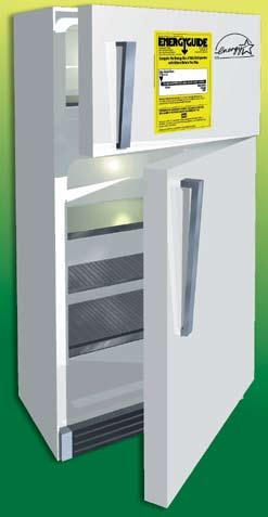 Appliances 24 Refrigerator/Freezer Energy Tips $ Long-Term Savings Tip ENERGY STAR Refrigerators Are