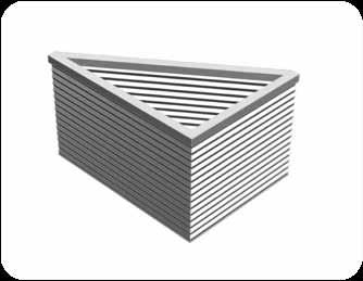 Product Advantages SMC Coopers FireMaster Concertina Active Fire Curtain Barriers does not require any visible support posts at the corners.