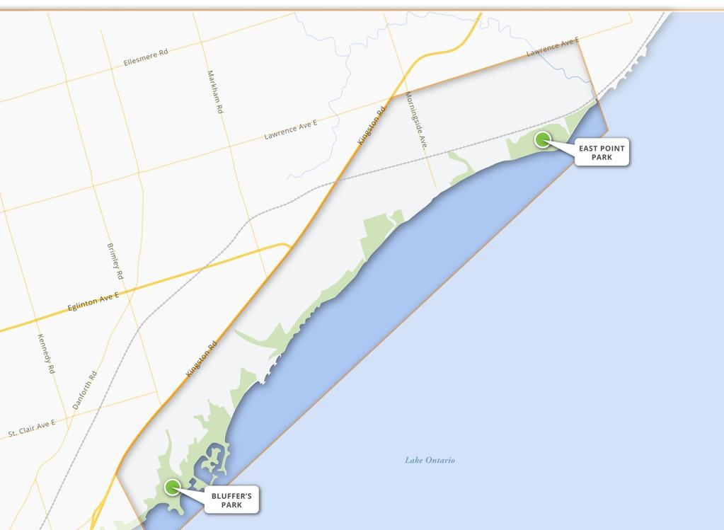 EA INFO SHEET #1 SCARBOROUGH WATERFRONT PROJECT PROJECT OVERVIEW Toronto and Region Conservation Authority (TRCA) has initiated a study under the provincial Environmental Assessment Act to create a
