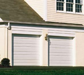 The Value Series helps conserve natural resources by providing a durable, reliable, lowmaintenance door.