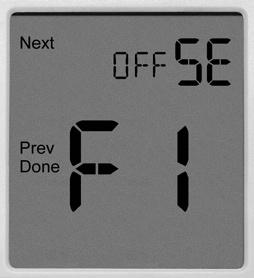 TECHNICIAN SETUP MENU Technician Setup Menu This thermostat has a technician setup menu for easy installer configuration. To set up the thermostat for your particular application: 1. 2.
