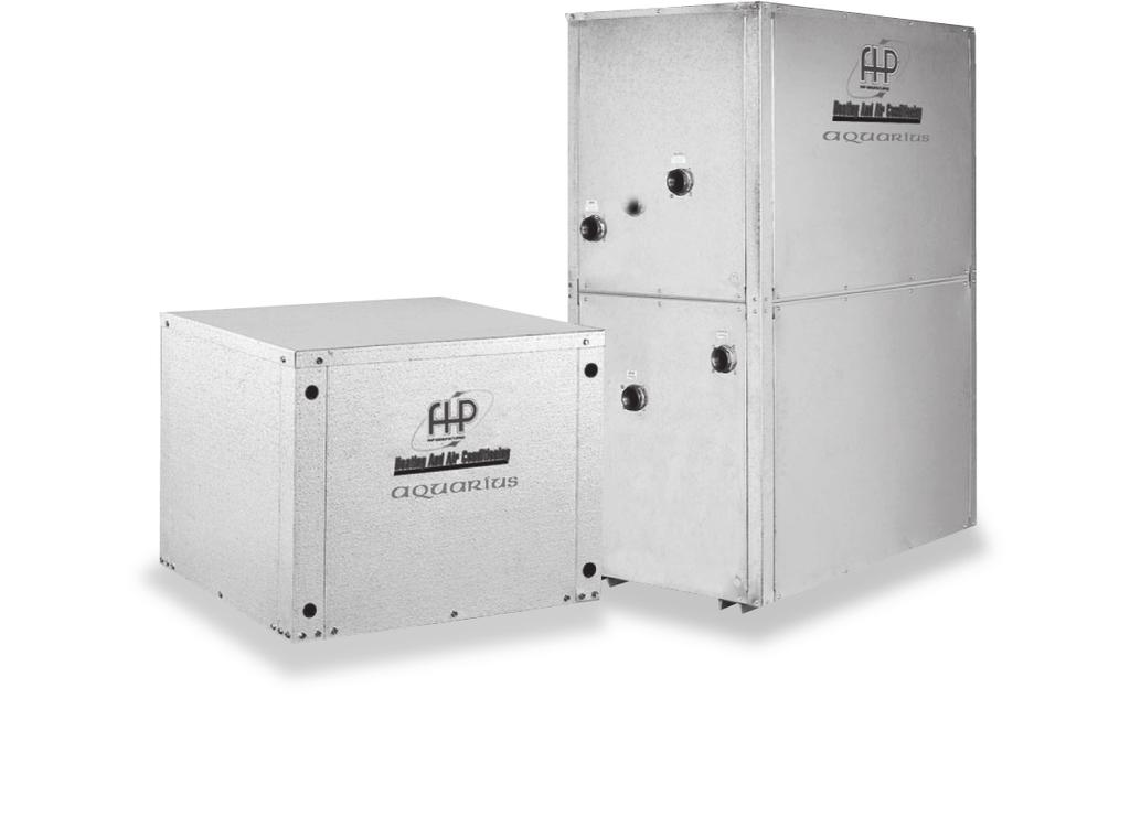 AQUARIUS WW SERIES water to water heat pumps O ur Aquarius WW Series water-cooled modular reverse cycle chillers are designed to meet all your replacement or new construction chiller requirements.