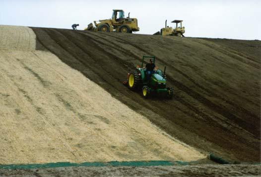 Guidelines for Installing Rolled Erosion Control Products in Slope, Channel and Shoreline Applications Laurie Honnigford Soil erosion is evident in so many situations and the environmental impact can