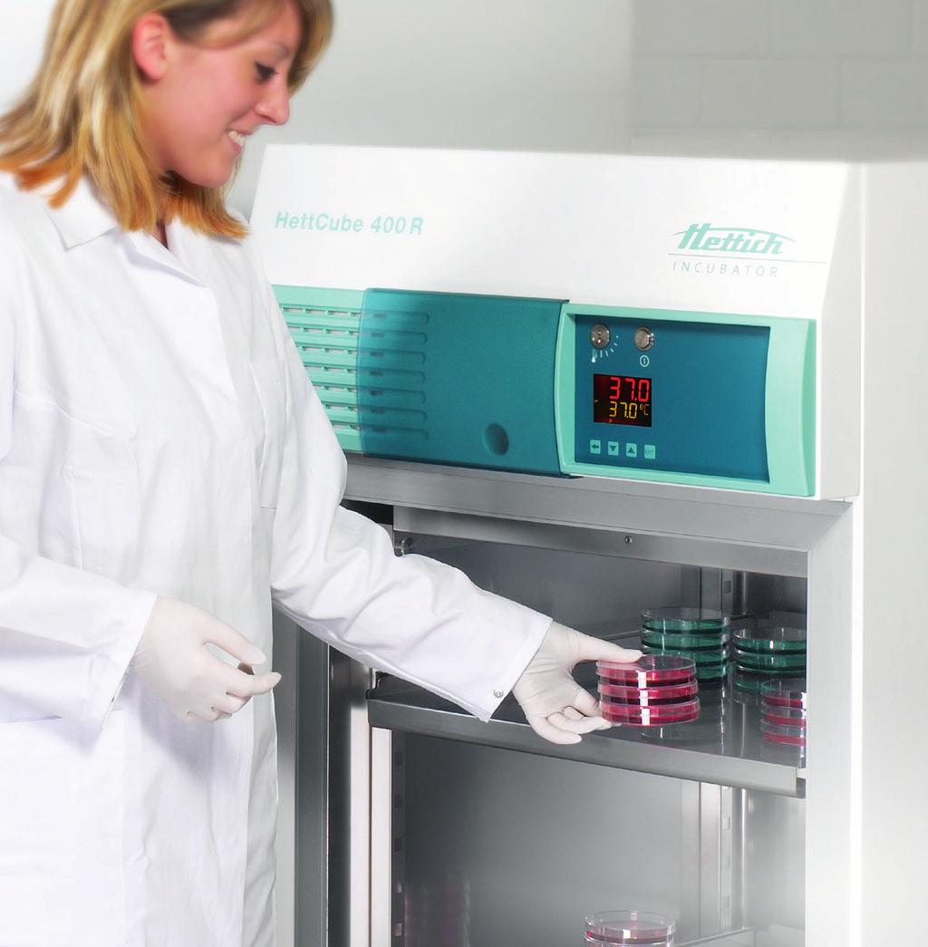 HettCube INCubatORS AND COOLED INCubatORS