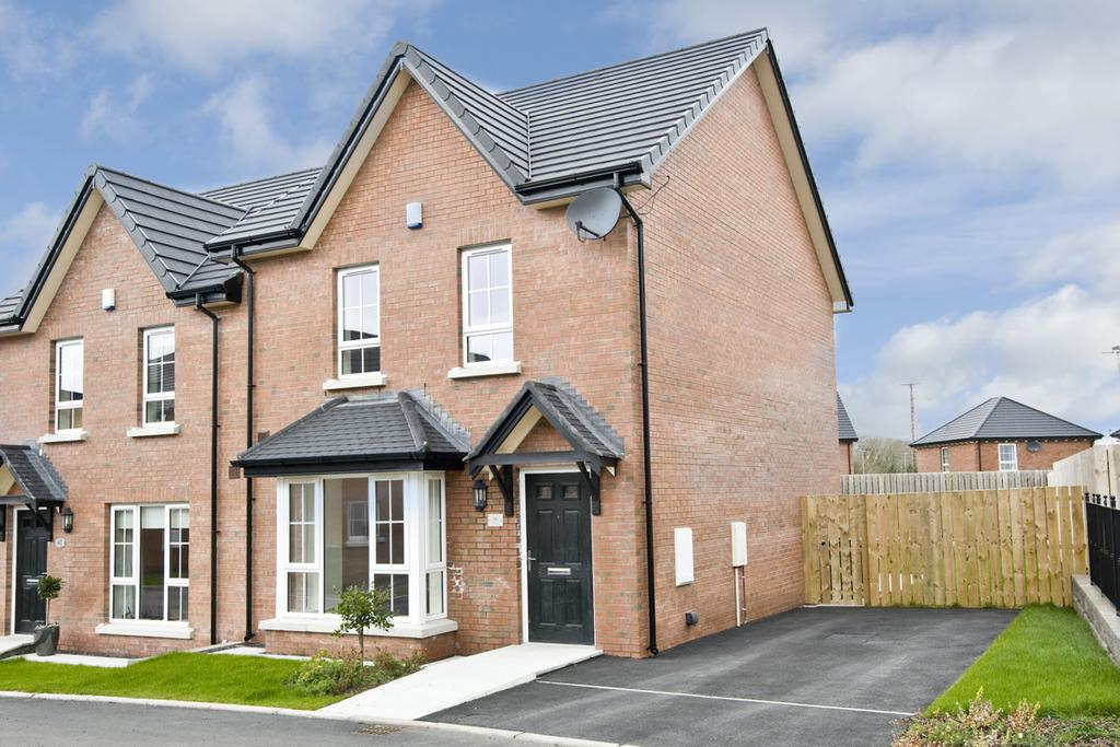 Photo Please fit in text box An attractive, well-presented, semi-detached villa in the modern Millmount Village development, recently constructed to a high standard yet in traditional Georgian style.
