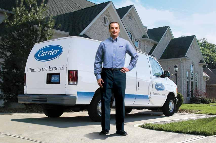 Turn to the Experts Willis Carrier invented air conditioning in 1902. Over 100 years later, we re proud to say Carrier systems are trusted in more homes than any other brand.