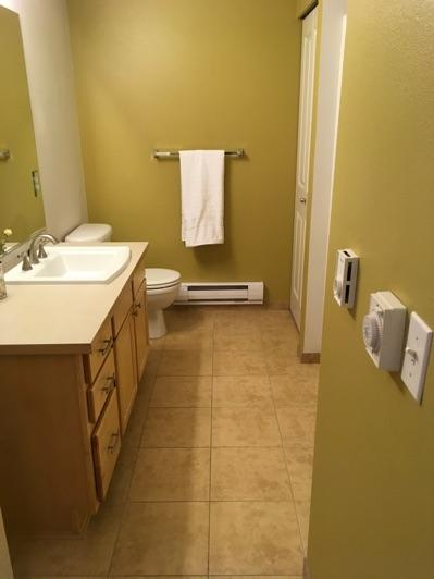 1. Room Hall Bathroom1 Ceiling and walls are in good condition overall. Accessible outlets operate. Light fixture operates. 2.