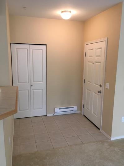 1. Conditions Entryway Ceiling and walls are in