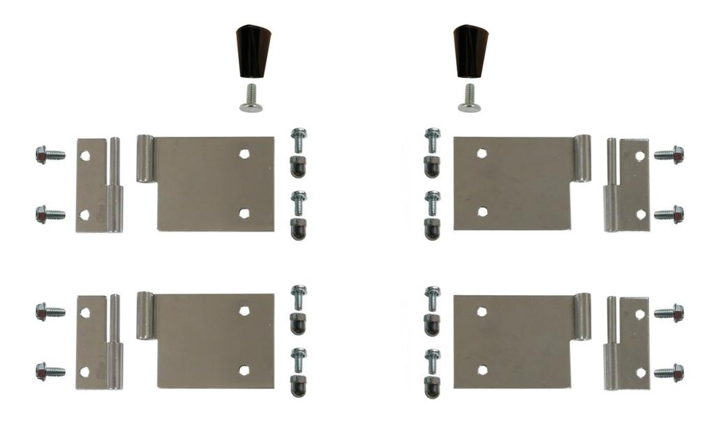 Door Hardware Kit 61380 Individual Component Breakdown 1 3 2 4 5 6 7 8 9 Complete Door Hardware Kit (P/N 61380) (contains all parts shown above) Item Part Description Part Number 61380 1 KNOB LID