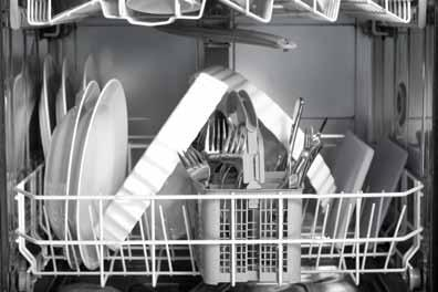 Let the dishwasher do the work Washing up by hand is likely to use more water (and energy) than a modern efficient dishwasher; even if you use a washing-up bowl!