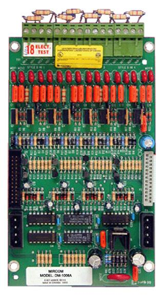SGM-1004A Four Notification Appliance Circuit Module The SGM-1004A provides 4 Style Z/Y(Class A/B) Notification Appliance Circuits configurable as