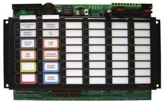 Graphic Annunciator Driver Modules RAX-1048TZDS Programmable LED Annunciator Module The RAX-1048TZDS Programmable LED Annunciator Module provides 48 programmable bi-colored LEDs.