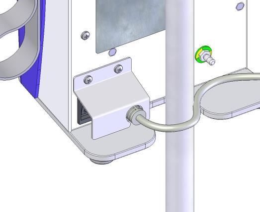 tightened. To remove the Controller from the IV pole, turn the clamp handle counterclockwise until the unit releases. (See Figure 2.