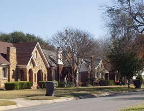 NEIGHBORHOODS ELEMENT In surveys, Dallas residents say what they want to change most in the city is its appearance they want it to look beautiful, with trees and pedestrian-friendly neighborhoods.