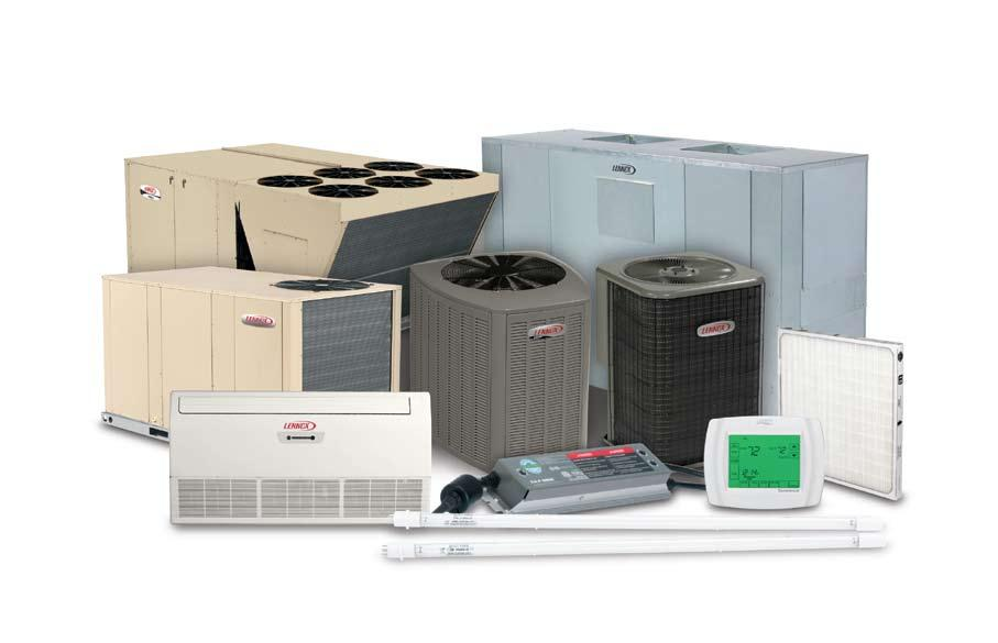 Packaged Units Strategos Rooftop Units Energence Rooftop Units Landmark Rooftop Units Single-phase residential packaged units* Heating Gas Furnaces Unit Heaters Duct Furnaces Split Systems S-Class