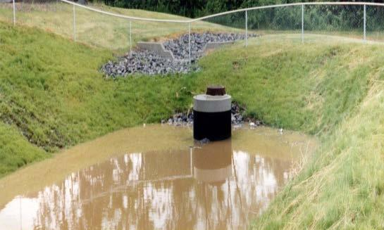 The second variable to consider is the facility s existing storm water management system.