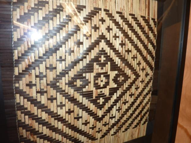 River cane basket weaving, especially the extremely difficult double weave style is an art form that almost disappeared but recently has been revived by Lucile and Ramona Lossiah, two of the last