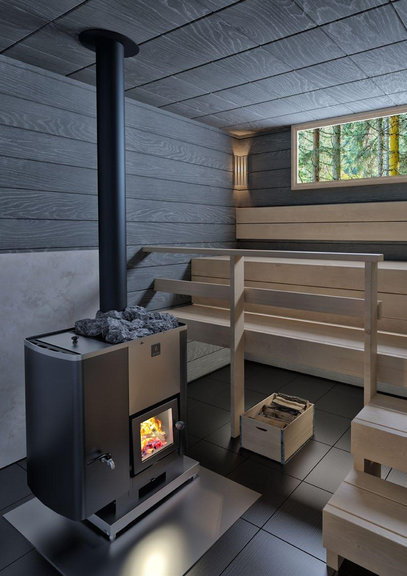 WOOD BURNING HEATERS WOOD I KASTOR There is something very special about a wood burning sauna.