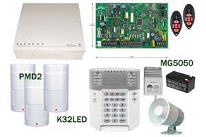 1 x Big metal box Paradox MG5050R2 Upgrade K37 Paradox MG5050 alarm Kit includes: 1 x