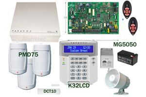 metal box Paradox MG5050R2KIT-PMD75-K32LCD Paradox MG5050 alarm kit with PMD75 passives Kit includes: 1 x MG5050 control