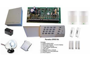 Paradox MG5050R15-Upgrade-K32LCD Paradox MG5050 alarm kit with K32LCD keypad Kit includes: 1 x MG5050 control panel 1 x REM15 remote control 1 x K32LCD keypad 1 x Big metal box Paradox EVO192 TM50