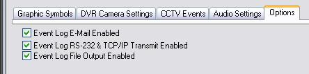 enter the monitor numbers as desired 22. choose a web camera URL if you are linking via internet AUDIO SETTINGS TAB 23.