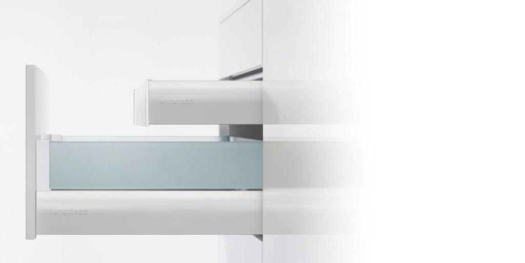 NOVA PRO Drawer System Nova Pro Deluxe. With gently curved surfaces. Harmony of form and function.