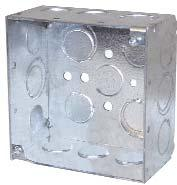 Boxes & Covers Receptacles & Switches ELECTRICAL BOXES RECEPTACLES CLES