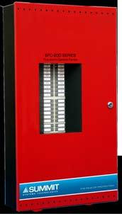SFC-200 Series LCD Version Models SFC-200 Series LED Version Models SFC-200-6DR / SFC-200-6DDR Six Zone LCD Display Fire Alarm Control Panels The SFC-200-6DR and SFC-200-6DDR are equipped with six