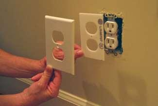 Insulate your switch-plate covers. Your sockets and light switches are essentially holes in the wall that allow air to flow through.