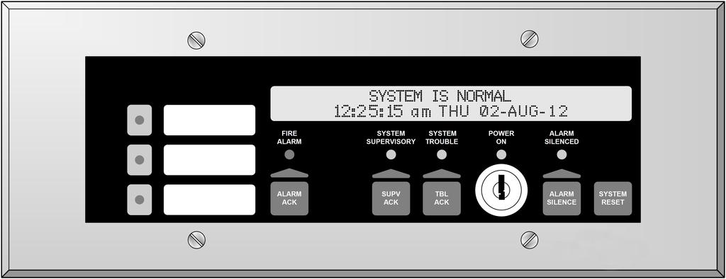 To determine total supervisory current, add currents of modules in panel to base system value and all auxiliary loads. 2.