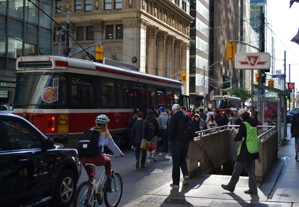 Downtown Mobility Strategy Enabling the growing number of residents, workers and visitors to travel safely, efficiently and more sustainably within finite road space Outlines a series of actions