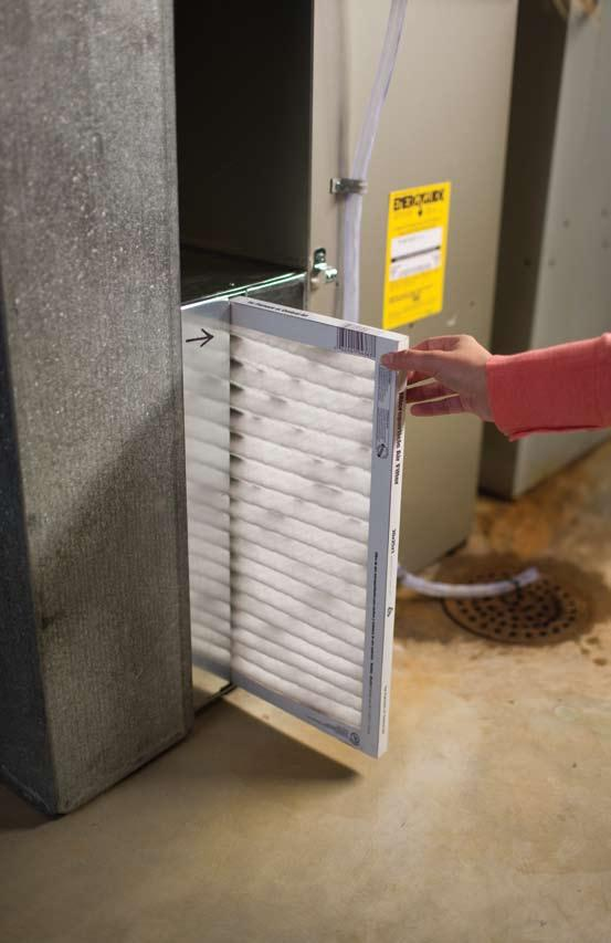 TIP #6 - MAINTAIN THE HVAC SYSTEM Keep indoor/outdoor coils clean and change filters regularly. Ensure that the HVAC system s airflow is correct. Check electrical connections and drive belts.