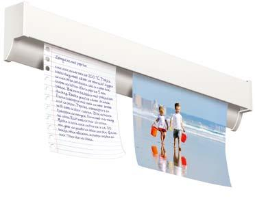 23 The Info Rail is ideal for sharing information in a space. Think of grocery lists, drawings, pictures or recipes.