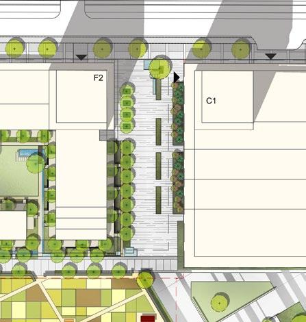 3.2 Components of the Public Realm Figure 3-13: Use Diagrams 3.2.1 High Street Commons KEY PLAN The High St.