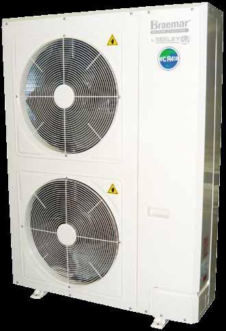 Ducted Fixed Speed Reverse Cycle CYCLE AIR CONDITIONING DUCTED FIXED SPEED REVERSE Outdoor unit features and benefits Ducted fixed speed specifications 3 Long-life cabinet Made of high quality