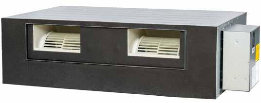 Ducted Inverter Reverse Cycle AIR CONDITIONING DUCTED INVERTER REVERSE CYCLE Indoor unit features and benefits Ducted Inverter Single Phase Outdoor unit features and benefits Ducted Inverter Single