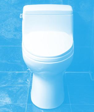 1 Consider replacing your old toilet with a new high-efficiency toilet (HET).