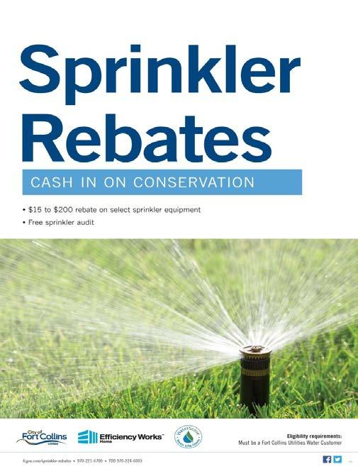 Reduce Your Water Use Free sprinkler audits for residential customers and homeowners associations ELCO and FCLWD water customers are