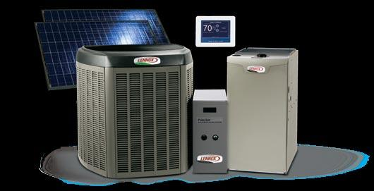 A system beyond compare. Heating systems from the Dave Lennox Signature Collection deliver even greater efficiency and comfort when combined with other Lennox products in one system.
