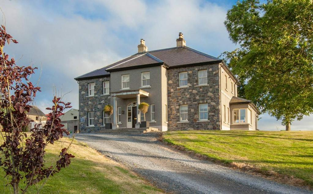 This magnificent detached property occupies an exceptional elevated site, which benefits from unsurpassed views down the Lagan Valley panning from Belfast to Lough Neagh and the Sperrin Mountains.