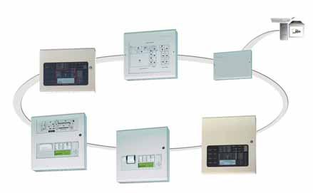 50 OVERVIEW Networking Ad-NeT Peer-to-Peer, Fault Tolerant Network for Fire Alarm Control Panels The network can be configured to allow the inter-connection of up to 200 panels in a fault-tolerant
