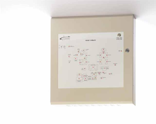 66 Mxp-020 Advanced Mimic Unit Analogue Addressable Fire Peripheral The Advanced Mimic Unit (AMU) provides a flexible, cost effective solution for any Mx-4000/5000 based fire detection system which