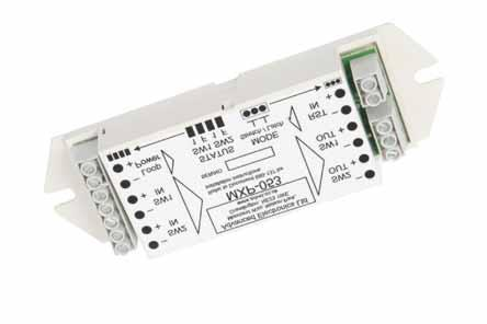 73 Mxp-053 Latch/Strect Input Card Analogue Addressable Fire Peripheral The Mxp-053 Input Latch / StretchModule provides monitoring for two momentary switch inputs.