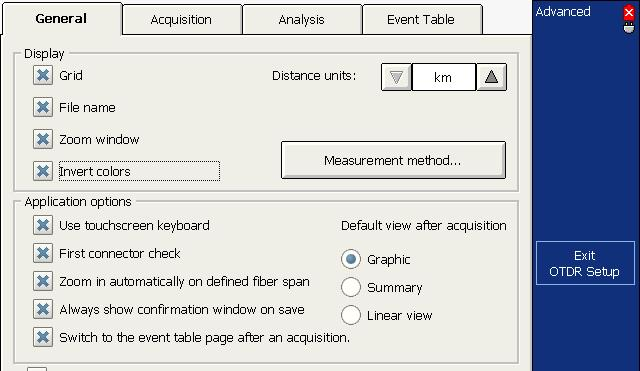 Analyzing Traces and Events Automatically Displaying the Event Table after Acquisitions Automatically Displaying the Event Table after Acquisitions You may want the application to automatically