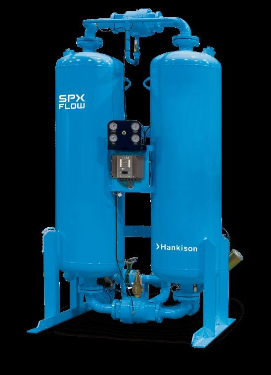Heatless Desiccant Air Dryers HHS SERIES, HHL