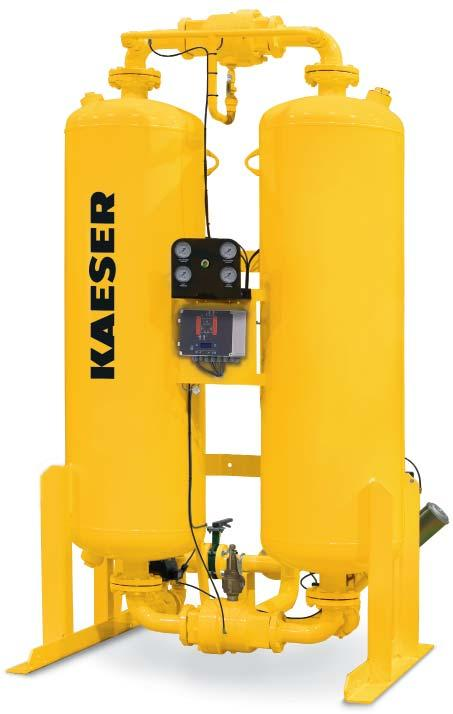 Outstanding Features of KAD 1 Controls and instrumentation Tower pressure gauges Tower status lights Switching failure alarm* Purge flow indicator NEMA electrical enclosure RS3 comm port* *Not