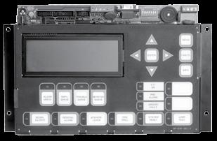 Remote Annunciators Graphic Annunciator Driver Modules RAX-LCD Remote Shared Display The RAX-LCD Remote Shared Display is a remote annunciator that provides the same functions as the main display on
